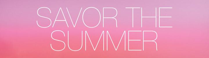 savor the summer image